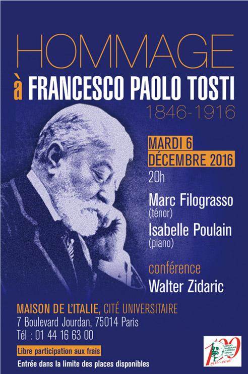 Hommage à Francesco Paolo Tosti