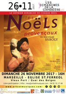 Affiche Noël Saboly Filograsso Gabriel Dumon 2017